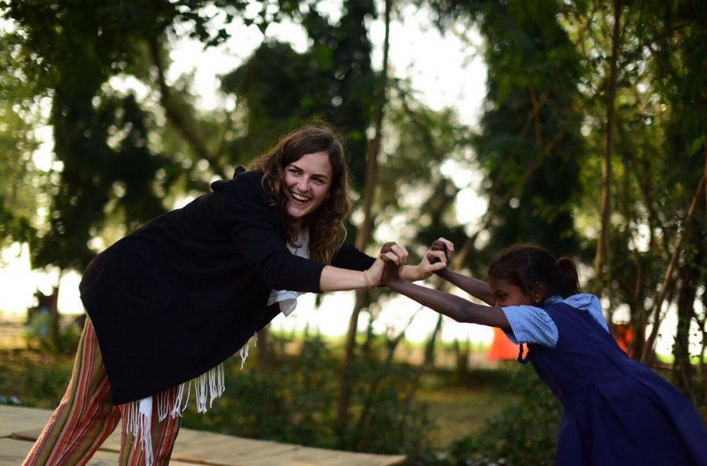 Serena: Fare volontariato in India