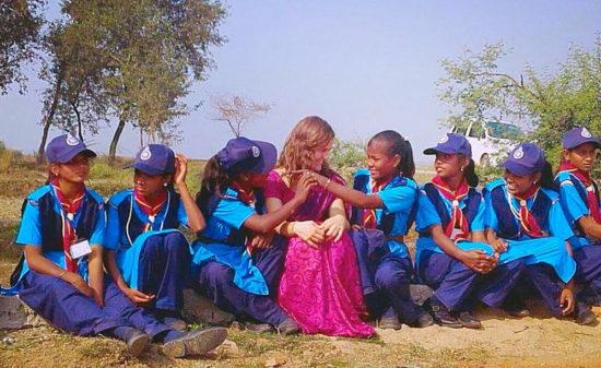 dove fare volontariato in India