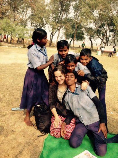 fare volontariato in India
