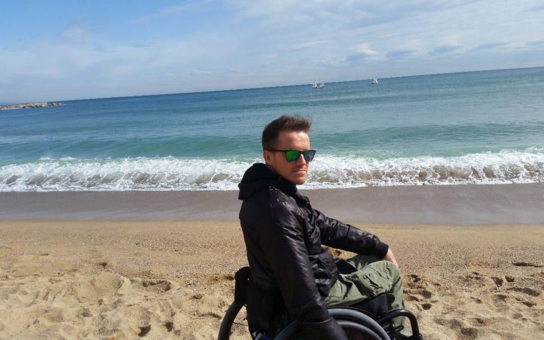 Omar: maratone e viaggi sulla sedia a rotelle