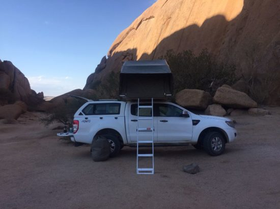 Affittare un 4x4 in Namibia