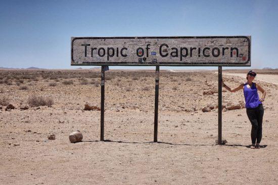 Tropico del Capricorno Namibia