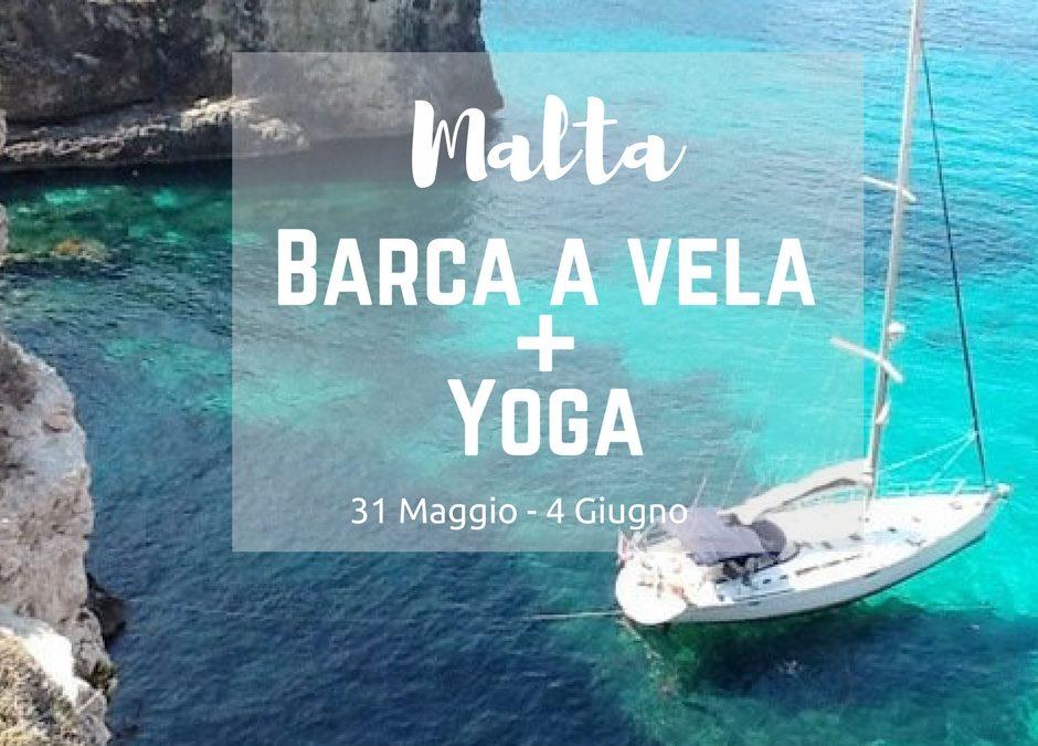 Barca a Vela + Yoga ponte del 2 giugno a Malta