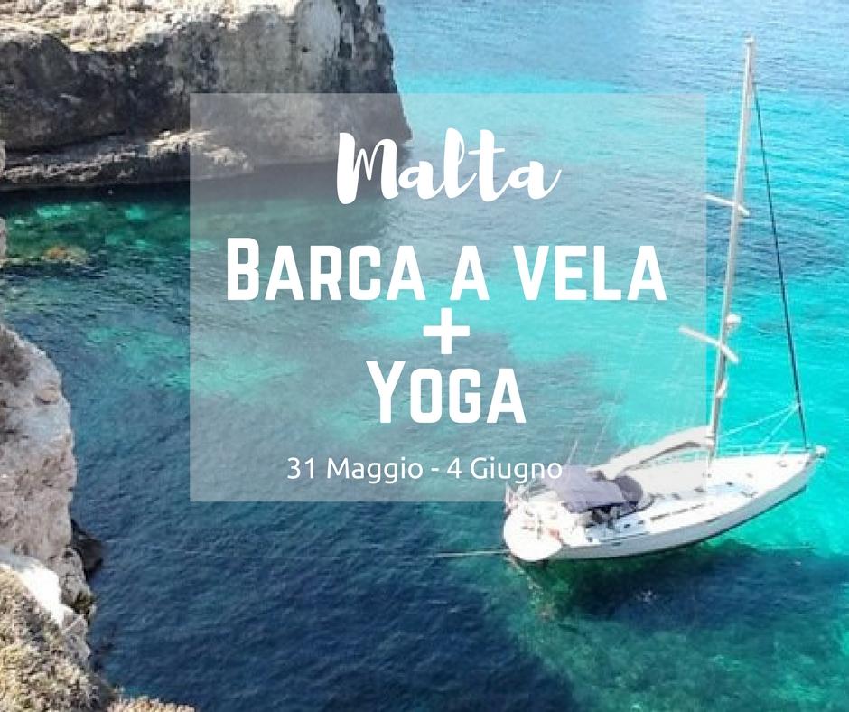 barca a vela e yoga