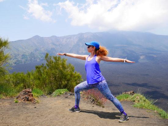 Yoga sull'Etna