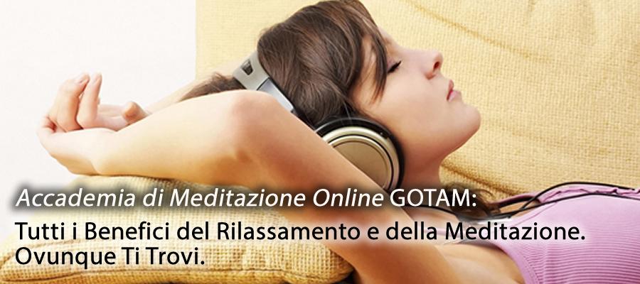 Nasce l'Accademia di Meditazione On-Line GOTAM