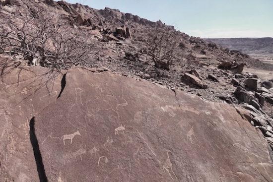 Twyfelfontein - Palmwag