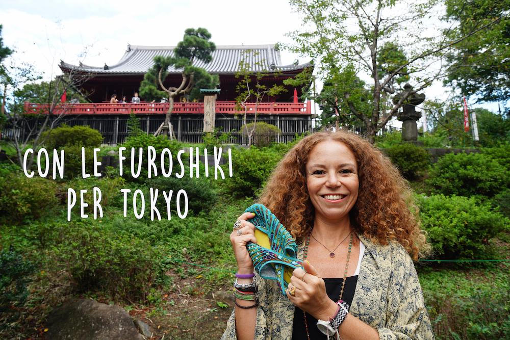 Con le scarpe Furoshiki per Tokyo