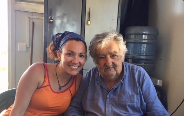 Giovanna: da sola in Sud America, l'incontro con il presidente Mujica