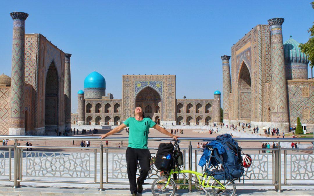 Vieri: in viaggio da solo in bicicletta da Milano a Bangkok