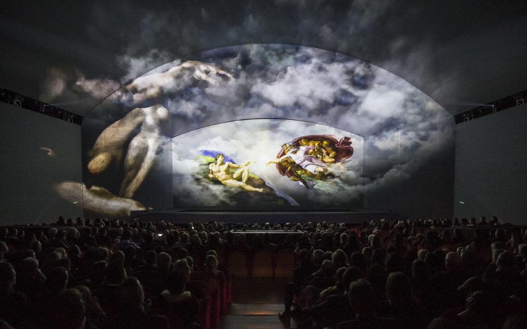Giudizio Universale: i segreti della Cappella Sistina. Un viaggio attraverso l'arte, lo spettacolo, l'innovazione.