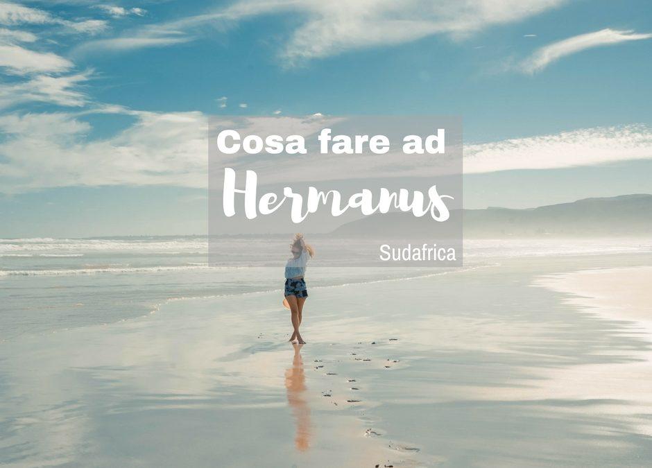 Cosa fare ad Hermanus – Vedere le Balene e non solo- Sudafrica