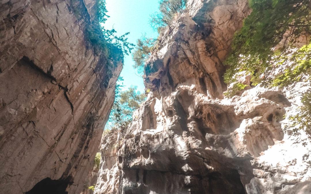 Gole di Tiberio escursione nel Parco delle Madonie- Sicilia