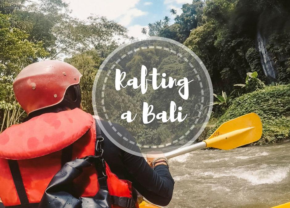 Fare rafting a Bali sul fiume Ayung ad Ubud