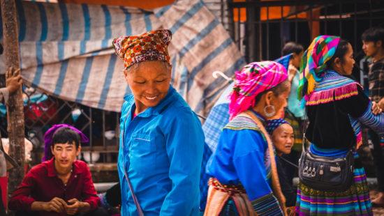 mercato di Bac Ha - Vietnam