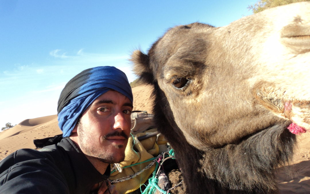 Mauro: il deserto del Sahara a piedi insieme ad una carovana di Beduini