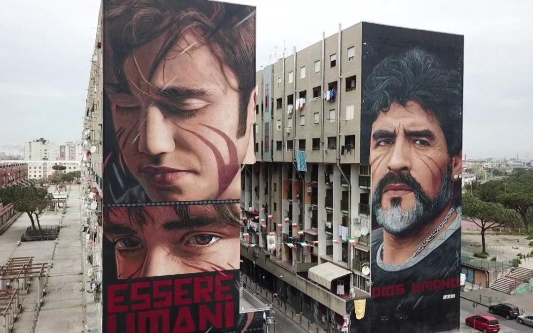 I Luoghi di Jorit da scovare a Napoli: murales e messaggi nascosti