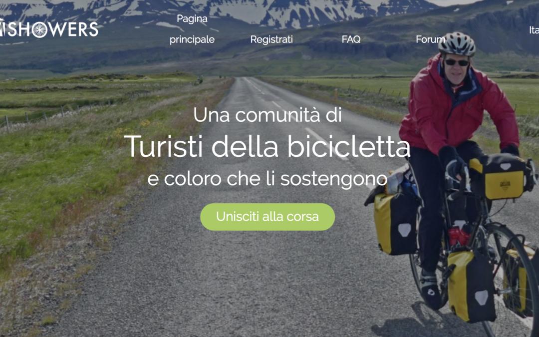 Warm Showers: il portale di ospitalità per i cicloturisti nel mondo
