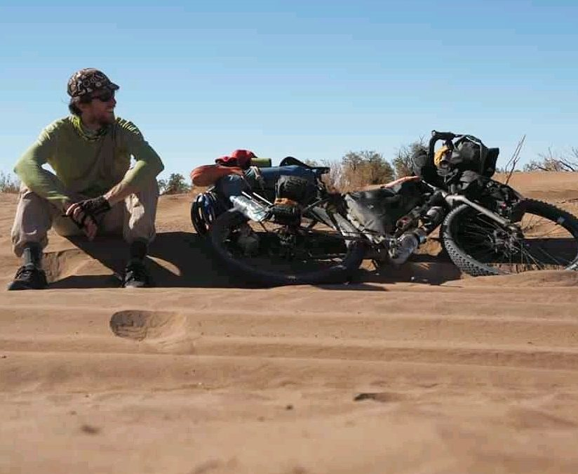 Filippo da Torino a Cape Town in bicicletta viaggiare in Africa pedalando