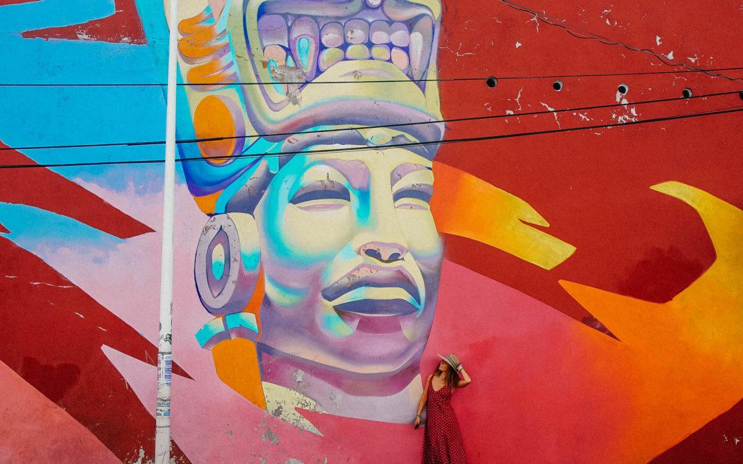 La Street art di Puebla in Messico: i murales nascosti