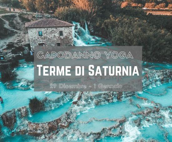 Evento di Capodanno 2020 yoga in Toscana alle Terme di Saturnia