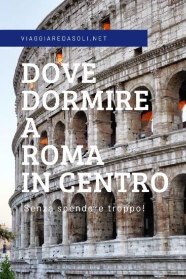Dove dormire a Roma Centro spendendo poco