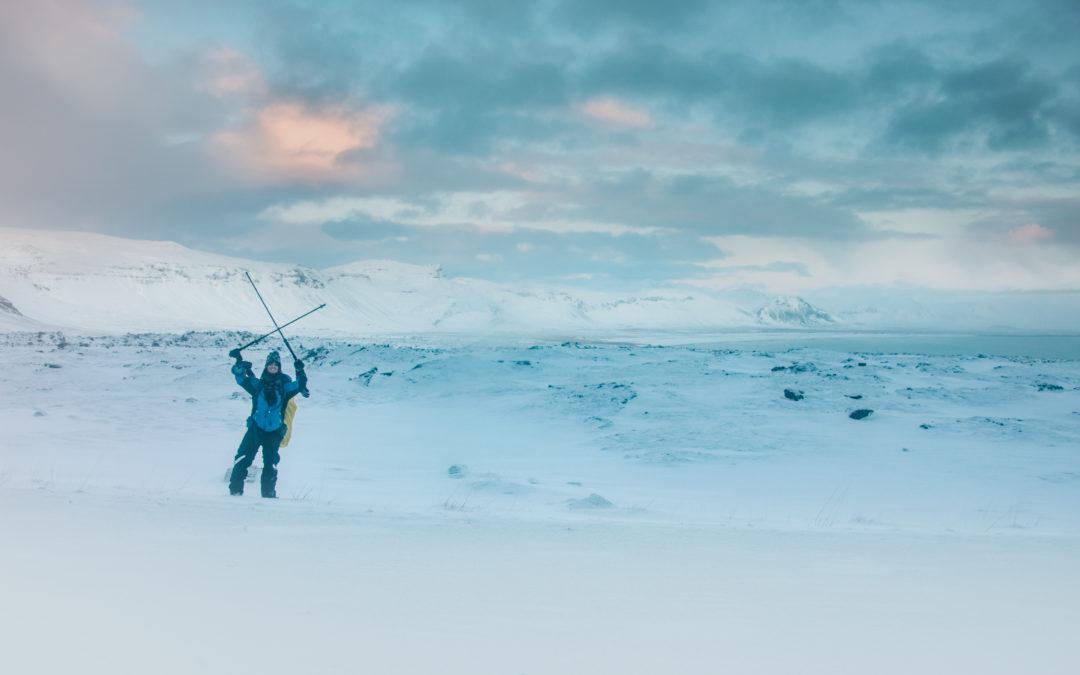 Alberto: viaggiare in Islanda a piedi in inverno