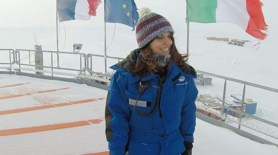 Giuditta: un anno in missione in Antartide isolata dal mondo